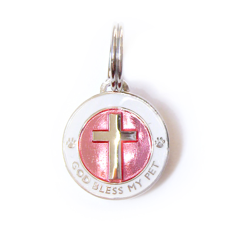 Cross Charm Pink