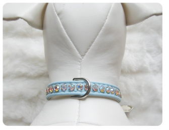 Jackie O Collar Blue