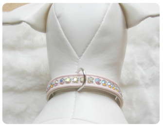 Jackie O Collar Light Pink
