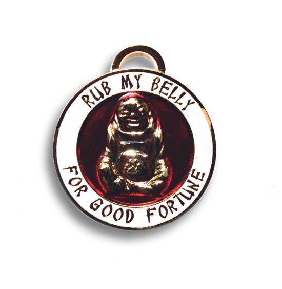 Pendant Lucky Buddha Gold