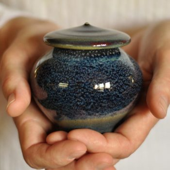Infinite skies pet cremation keepsake urn