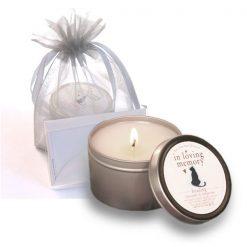 pet memorial candle