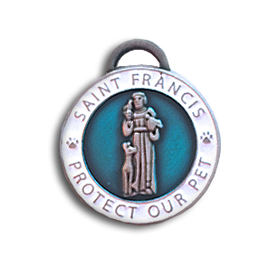 St. Francis medal for dogs